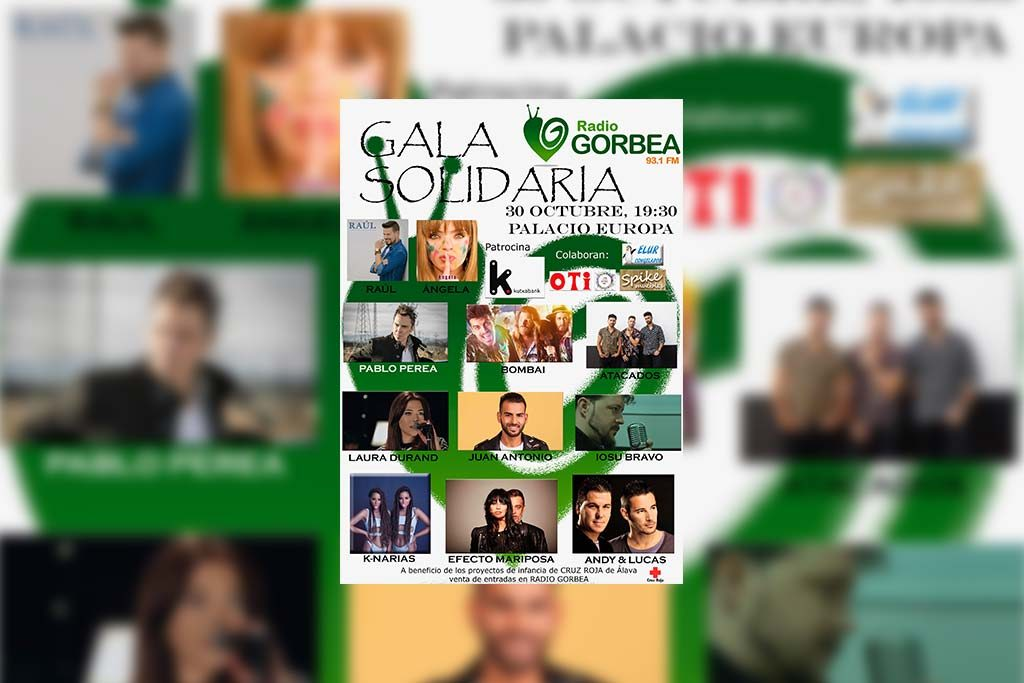 Gala Solidaria - Radio Gorbea